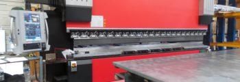 Acquisition d'une plieuse avec commande numérique 3D